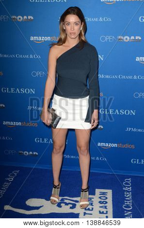 LOS ANGELES - JUL 14:  Melissa Bolona at the Gleason LA Premiere Screening at the Regal 14 Theaters at LA Live on July 14, 2016 in Los Angeles, CA