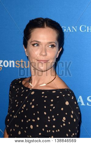 LOS ANGELES - JUL 14:  Katie Aselton at the Gleason LA Premiere Screening at the Regal 14 Theaters at LA Live on July 14, 2016 in Los Angeles, CA