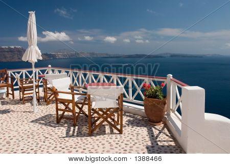 Santorini Viem From Balcony