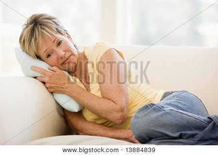 Mujer siente malestar