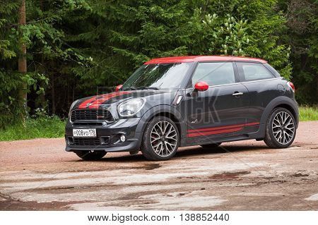 Mini John Cooper Works Paceman All4 Closeup