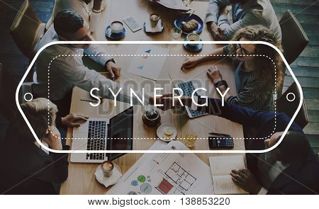 Synergy Corporation Interaction Unity Team Concept