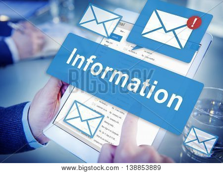 Data Information Email Connection Online Concept
