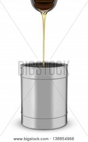 Motor Oil isolated on a white background.  vector illustration.