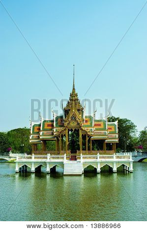 antique thai palace