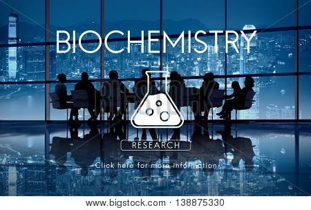Scientific Biochemistry Genetics Engineering Concept