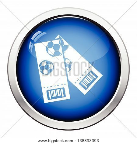 Two Football Tickets Icon