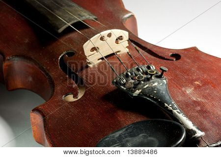 extremely old master violin