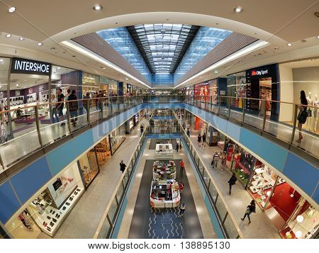 Galeria Krakowska Mall Is The Biggest And Most Famous Shopping Mall In Krakow.