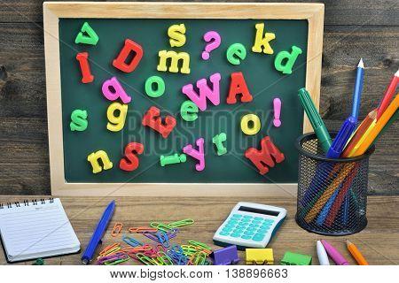 Many letters  on school board