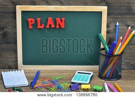 Plan word on school board