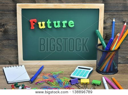 Future word on school board