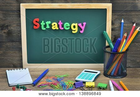 Strategy word on school board