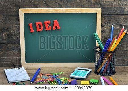 Idea word on school board