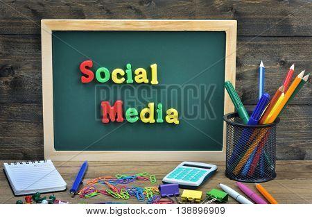 Social Media word on school board