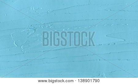 Blue Oil Paint Background.