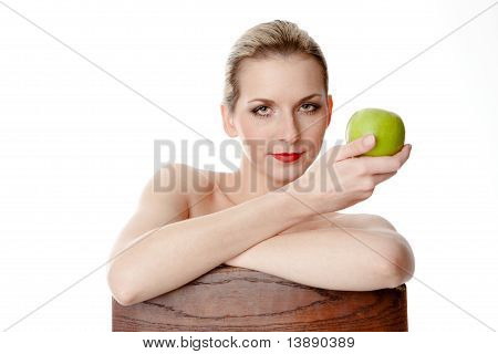 Eve and her apple