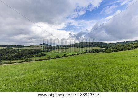 Rural Eifel Landscape