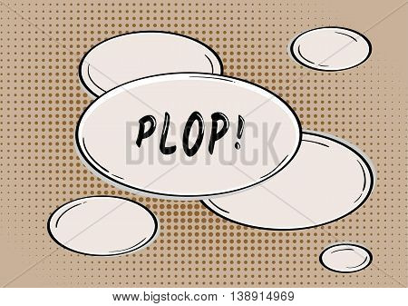Plop Comic Bubble