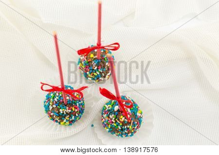 Cake Pops On The Table