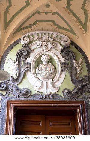 The Palazzo Dello Spagnolo