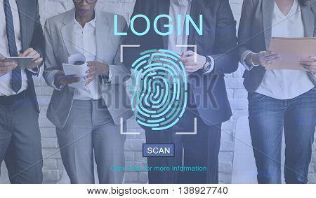 Fingerprint Technology Data Protection Concept