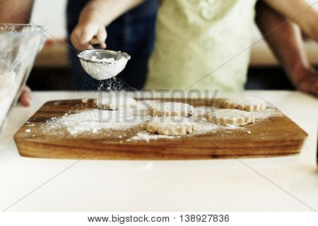 Cooking Kids Cookies Baking Bake Concept
