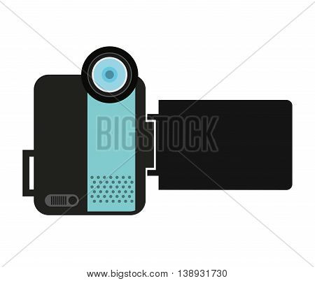 camera video handy icon vector isolated graphic