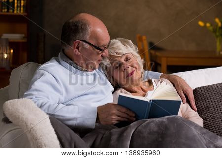 Evening Read That Made Her Fall Asleep