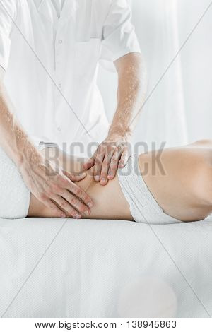 Professional Massage For Health And Relax