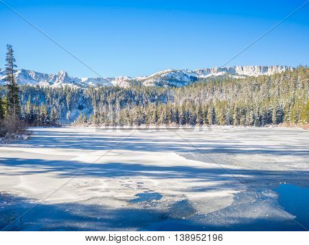 Winter at Mammoth Lakes