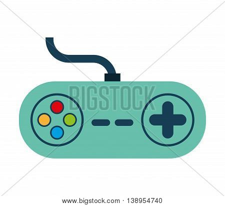 control game wire icon  graphic isolated vector