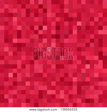 Seamless Geometric Checked Pattern. Ideal For Printing Onto Fabric And Paper Or Decoration. Red Colo