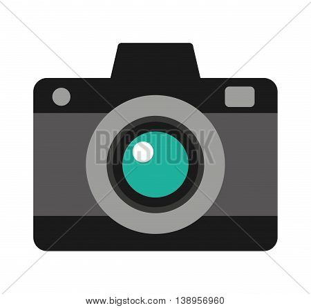 camera photographic photo icon graphic isolated vector