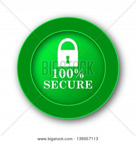 100 Percent Secure Icon