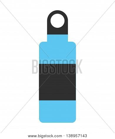 bottle water drink icon graphic isolated vector