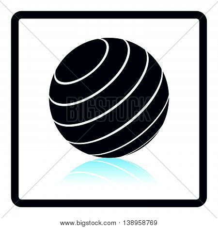 Icon Of Fitness Rubber Ball