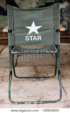 Directors Chair With Star On The Back