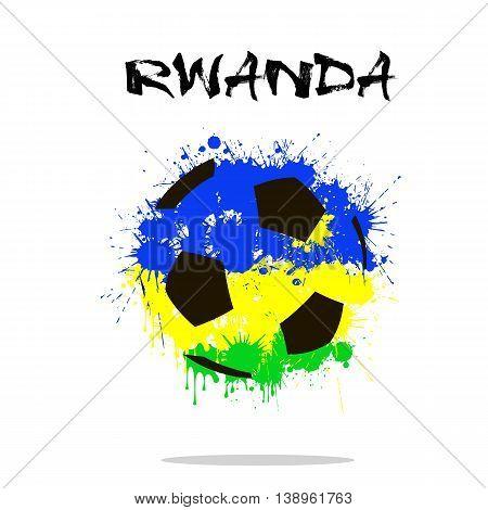 Abstract Soccer Ball
