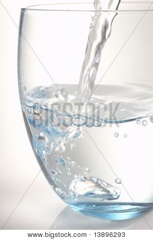Pouring A Glass Of Water