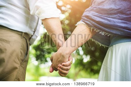 Couple Togetherness Dating Relaxation Love Concept