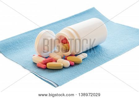 Pills And  Drugs Box