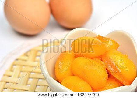 Sweet Jackfruit Seeds (Thai dessert : Met Khanoon)