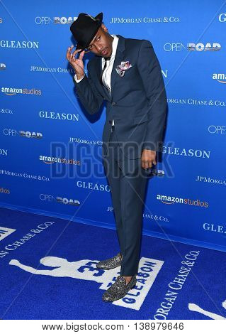 LOS ANGELES - JUL 14:  Nick Cannon arrives to the