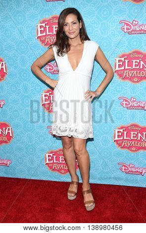 LOS ANGELES - JUL 16:  Constance Marie arrives to the Disney Channel's