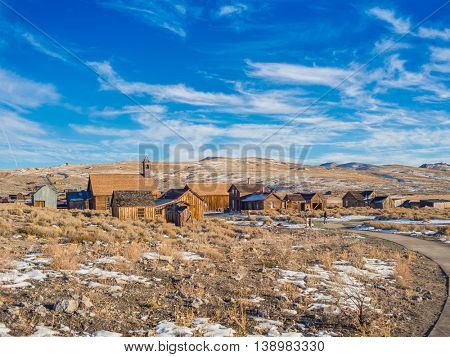 Bodie Ghost Town California State Park