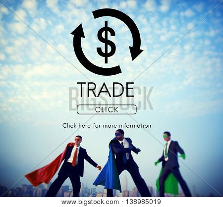Financial Trade Economics Financial Graphic Concept
