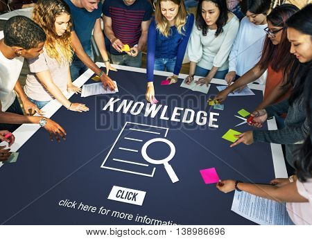 Knowledge Results Discovery Investigation Concept