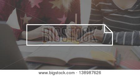 Student Women Reading Education Concept