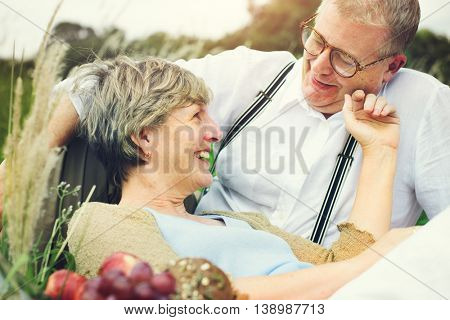 Couple Wife Husband Dating Relaxation Love Concept